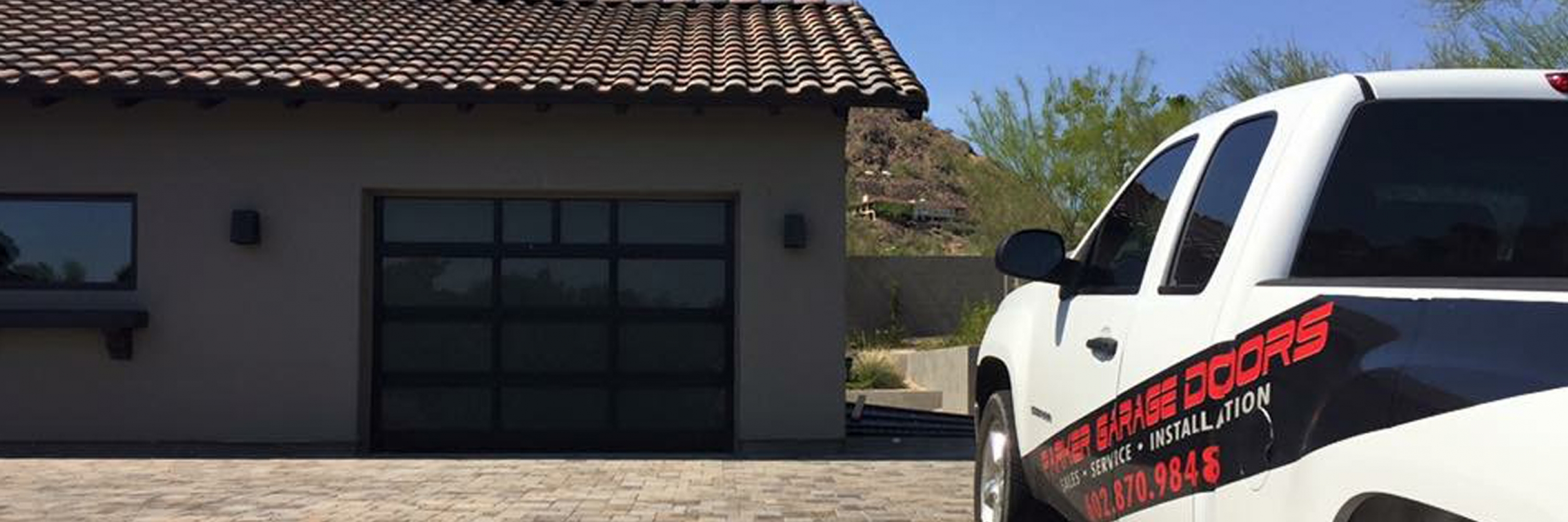 Parker Garage Doors & More – Lake Havasu Garage Doors on signs and more, kitchen cabinets and more, painting and more, air conditioning and more, blinds and more,
